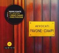 Peppe Fonte, Le canzoni di Piero Ciampi e Pino Pavone